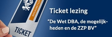 banner ticket lezing